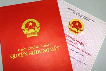 Trình tự thủ tục xin cấp giấy chứng nhận quyền sử dụng đất ở Cần Thơ