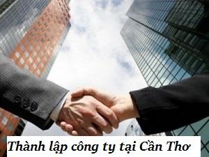 Thành lập công ty tại Cần Thơ