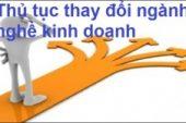 Thay đổi ngành nghề kinh doanh Công ty Cổ phần tại quận Ninh Kiều, thành phố Cần Thơ