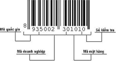 cấu tạo mã số mã vạch