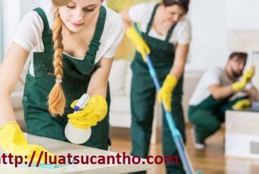 Thủ tục mở công ty dịch vụ vệ sinh tại Cần Thơ